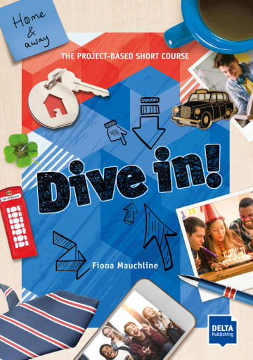 Cover Dive in! Home and away 978-3-12-501305-6 Englisch