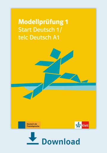 Cover Modellprüfung 1: Start Deutsch 1 NP00810000001 Deutsch als Fremdsprache (DaF)