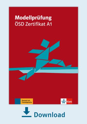 Cover Modellprüfung: ÖSD Zertifikat A1 NP00810000060 Deutsch als Fremdsprache (DaF)