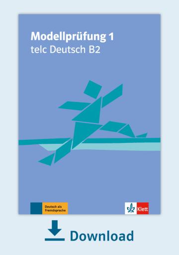 Cover Modellprüfung 1: telc Deutsch B2 NP00810000130 Deutsch als Fremdsprache (DaF)