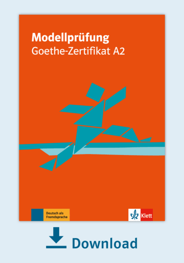 Cover Modellprüfung: Goethe-Zertifikat A2 NP00810000020 Deutsch als Fremdsprache (DaF)