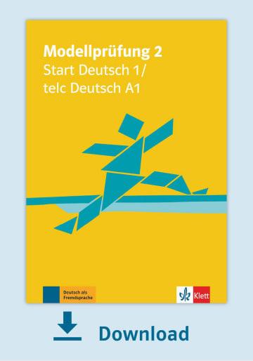 Cover Modellprüfung 2: Start Deutsch 1 NP00810000002 Deutsch als Fremdsprache (DaF)