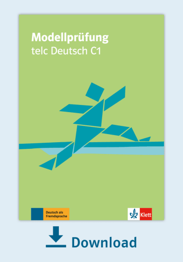 Cover Modellprüfung: telc Deutsch C1 NP00810000140 Deutsch als Fremdsprache (DaF)