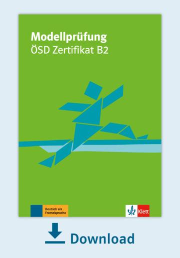Cover Modellprüfung: ÖSD Zertifikat B2 NP00810000080 Deutsch als Fremdsprache (DaF)