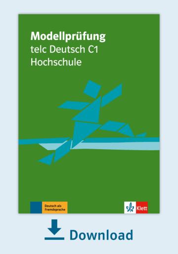 Cover Modellprüfung: telc Deutsch C1 Hochschule NP00810000150 Deutsch als Fremdsprache (DaF)