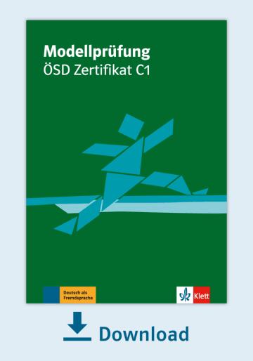 Cover Modellprüfung: ÖSD Zertifikat C1 NP00810000090 Deutsch als Fremdsprache (DaF)