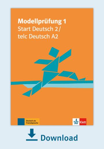 Cover Modellprüfung 1: telc Deutsch A2 / Start Deutsch 2 NP00810000100 Deutsch als Fremdsprache (DaF)