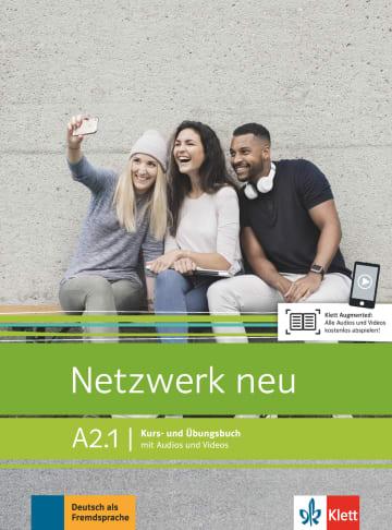 Cover Netzwerk neu A2.1 (Combined Half Edition) 978-3-12-607162-8 Deutsch als Fremdsprache (DaF)