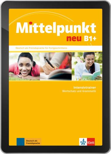 Cover Mittelpunkt neu B1+ NP00867664901 Deutsch als Fremdsprache (DaF)