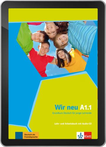 Cover Wir neu A1.1 - Digitale Ausgabe ohne LMS NP00867586801 Deutsch als Fremdsprache (DaF)