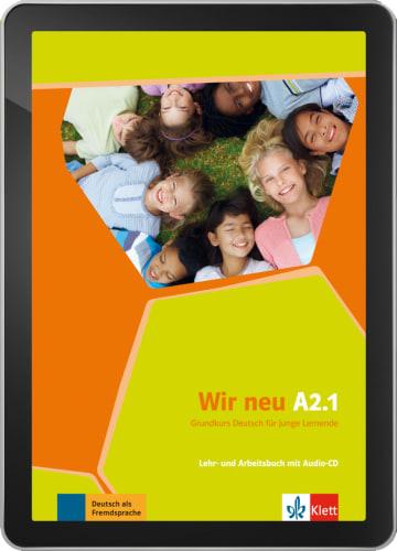 Cover Wir neu A2.1 - Digitale Ausgabe ohne LMS NP00867589801 Deutsch als Fremdsprache (DaF)