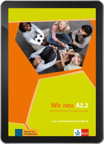 Cover Wir neu A2.2 - Digitale Ausgabe ohne LMS NP00867589901 Deutsch als Fremdsprache (DaF)