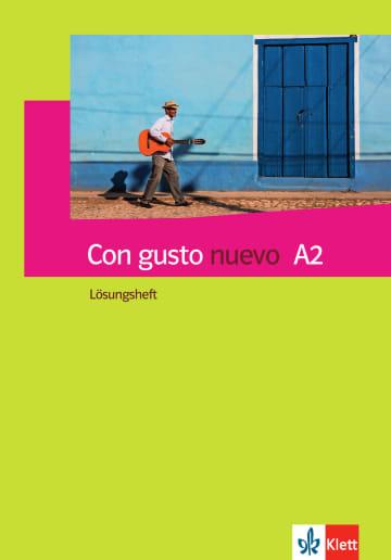 Cover Con gusto nuevo A2 978-3-12-514680-8 Spanisch