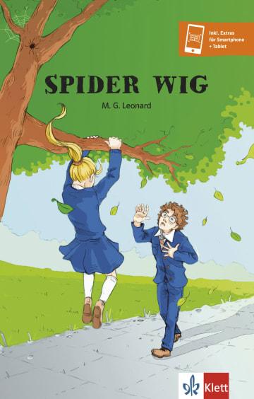 Cover Spider Wig 978-3-12-542647-4 M. G. Leonard Englisch