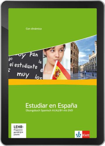 Cover Estudiar en España A1 - B1 - Digitale Ausgabe ohne LMS NP00851503901 Spanisch