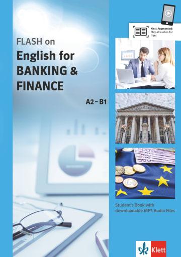Cover FLASH on Englisch for BANKING & FINANCE B1-B2 978-3-12-501699-6 Englisch für den Beruf