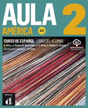 Cover Aula América 2 (A2) 978-3-12-515796-5 Spanisch