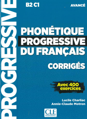 Cover Phonétique progressive du français 978-3-12-530019-4 Französisch