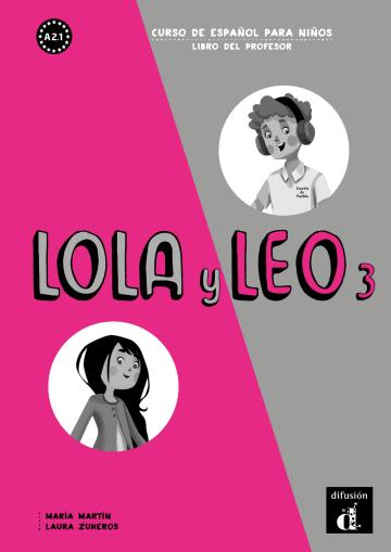 Cover Lola y Leo 3 978-3-12-562253-1 Spanisch