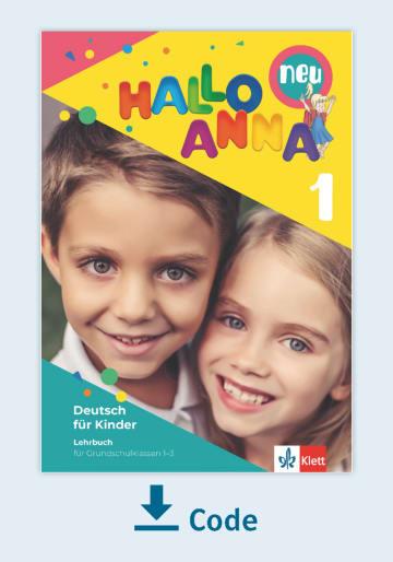 Cover Hallo Anna 1 neu 978-3-12-600062-8 Deutsch als Fremdsprache (DaF),Deutsch als Zweitsprache (DaZ)