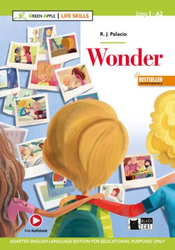 Cover Wonder 978-3-12-500122-0 R.J. Palacio Englisch