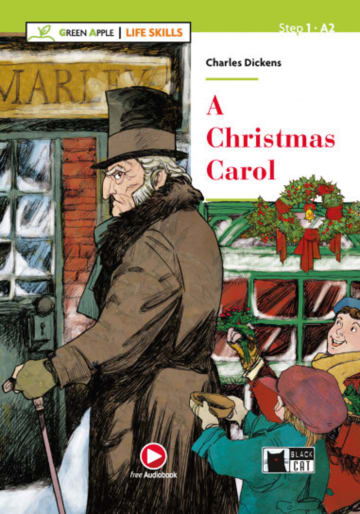 Cover A Christmas Carol 978-3-12-500121-3 Charles Dickens Englisch