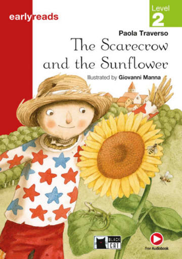 Cover The Scarecrow and the Sunflower 978-3-12-500027-8 Paola Traverso Englisch