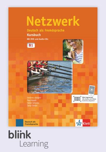 Cover Netzwerk B1 - Digitale Ausgabe mit LMS NP01160500390 Deutsch als Fremdsprache (DaF)