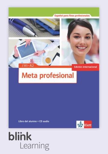 Cover Meta profesional A1 - A2 (edición internacional) - Digitale Ausgabe mit LMS NP00851548090 Spanisch