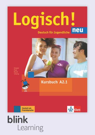 Cover Logisch! neu A2.1 - Digitale Ausgabe mit LMS NP00860521390 Deutsch als Fremdsprache (DaF),Deutsch als Zweitsprache (DaZ)