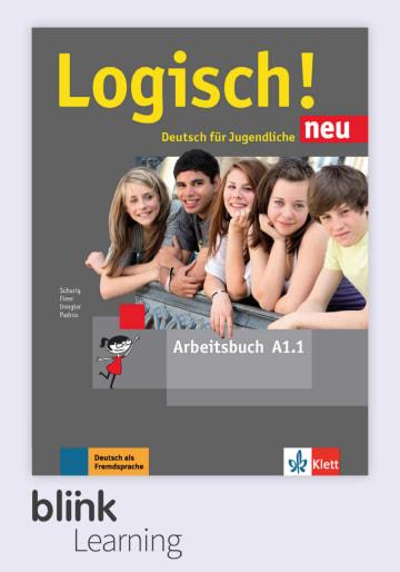 Cover Logisch! neu A1.1 - Digitale Ausgabe mit LMS NP01160520490 Deutsch als Fremdsprache (DaF),Deutsch als Zweitsprache (DaZ)