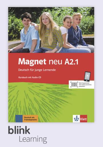Cover Magnet neu A2.1 - Digitale Ausgabe mit LMS NP00867608591 Deutsch als Fremdsprache (DaF)