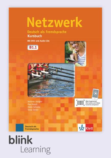 Cover Netzwerk B1.1 - Digitale Ausgabe mit LMS NP01160501490 Deutsch als Fremdsprache (DaF)