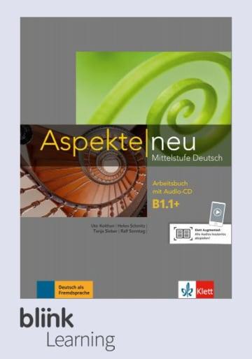 Cover Aspekte neu B1.1+ - Digitale Ausgabe mit LMS NP00860501791 Deutsch als Fremdsprache (DaF)