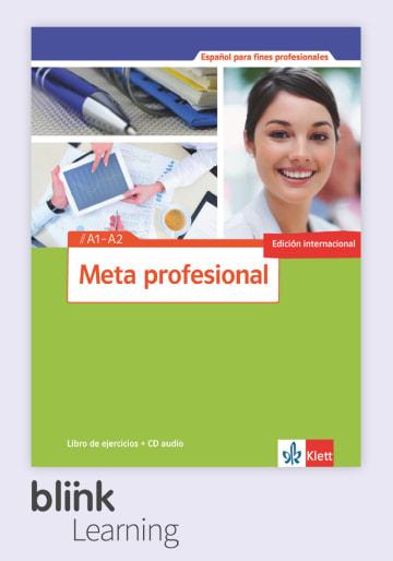 Cover Meta profesional A1 - A2 (edición internacional) - Digitale Ausgabe mit LMS NP00851548190 Spanisch