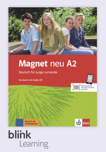 Cover Magnet neu A2 - Digitale Ausgabe mit LMS NP00867608590 Deutsch als Fremdsprache (DaF)