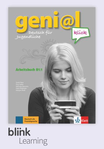 Cover geni@l klick B1.1 - Digitale Ausgabe mit LMS NP01160507091 Deutsch als Fremdsprache (DaF),Deutsch als Zweitsprache (DaZ)