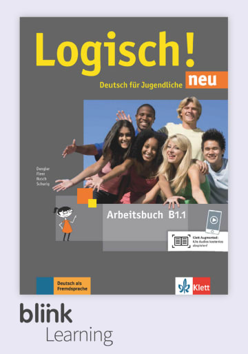 Cover Logisch! neu B1.1 - Digitale Ausgabe mit LMS NP00860522291 Deutsch als Fremdsprache (DaF),Deutsch als Zweitsprache (DaZ)