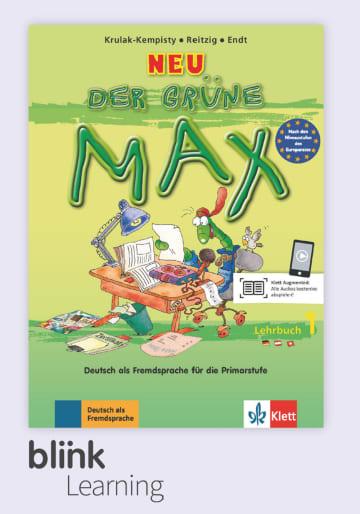 Cover Der grüne Max Neu A1 - Digitale Ausgabe mit LMS NP01160619290 Deutsch als Fremdsprache (DaF)