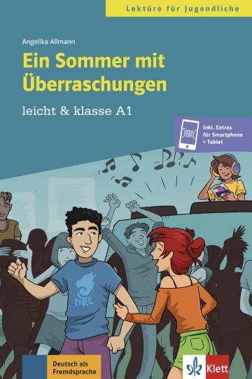 Cover Ein Sommer mit Überraschungen 978-3-12-674940-4 Angelika Allmann Deutsch als Fremdsprache (DaF),Deutsch als Zweitsprache (DaZ)
