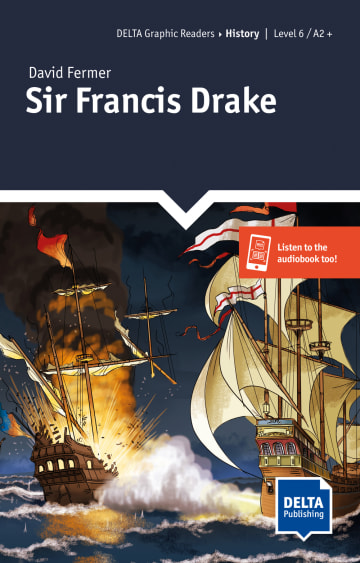 Cover Sir Francis Drake 978-3-12-501116-8 David Fermer Englisch