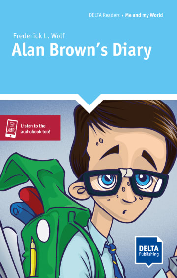 Cover Alan Brown's Diary 978-3-12-501120-5 Frederick L. Wolf Englisch