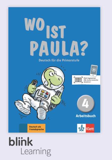 Cover Wo ist Paula? 4 - Digitale Ausgabe mit LMS NP00860528801 Deutsch als Fremdsprache (DaF)