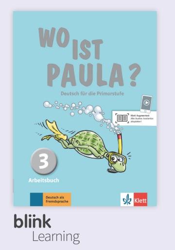 Cover Wo ist Paula? 3 - Digitale Ausgabe mit LMS NP00860528601 Deutsch als Fremdsprache (DaF)