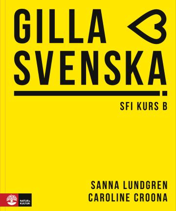 Cover Gilla svenska kurs B (A1-A2) 978-3-12-527799-1 Schwedisch