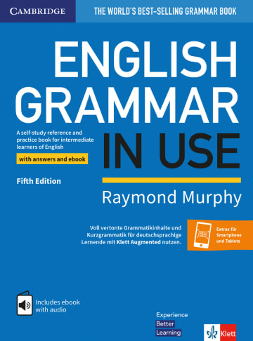 Cover English Grammar in Use 978-3-12-535423-4 Englisch