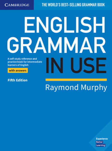 Cover English Grammar in Use 978-3-12-535424-1 Englisch