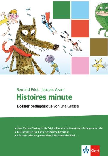 Cover Histoires minute 978-3-12-592145-0 Französisch