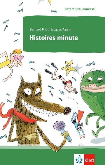 Cover Histoires minute 978-3-12-592144-3 Bernard Friot Französisch