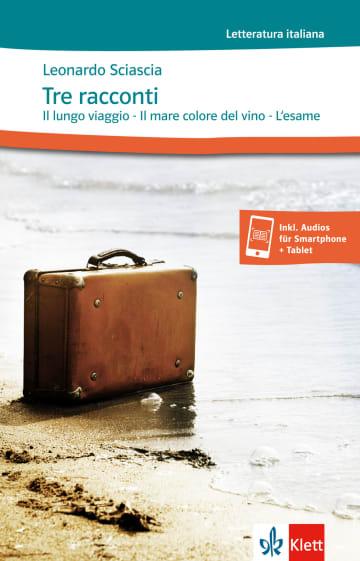 Cover Tre racconti 978-3-12-565904-9 Leonardo Sciascia Italienisch